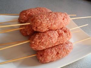 Grekiska köttfärsspett bild 1