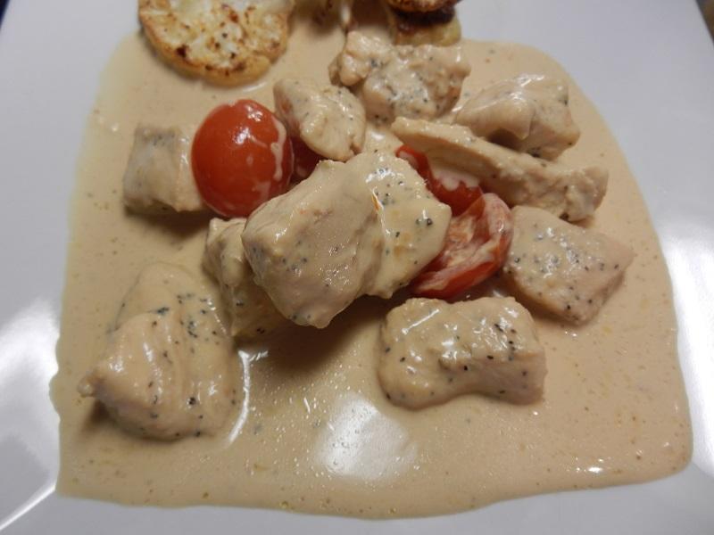 Kyckling i fetaostsås bild 2