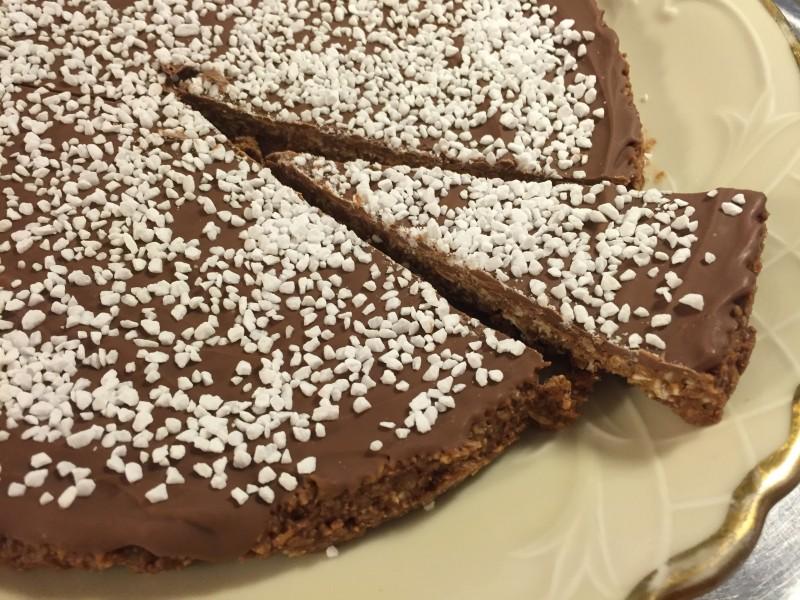 Chokladbollskaka 3