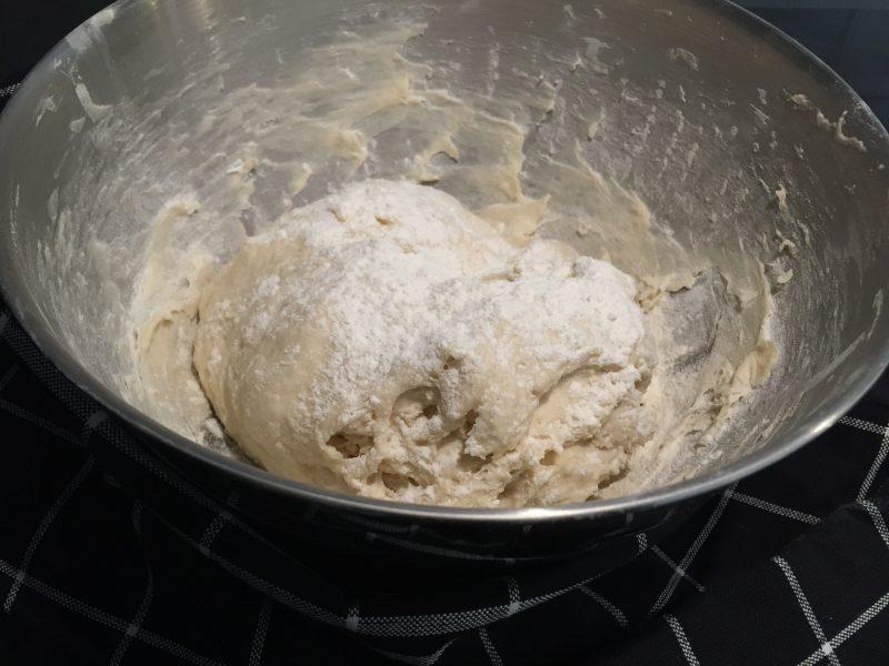 Piroger med ost och skinka